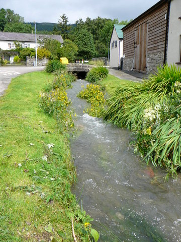 Stream in Centre of Village